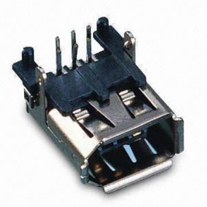 Gniazdo IEEE 6pin kątowe do druku