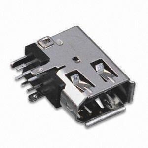Gniazdo IEEE 6pin kątowe do druku boczne