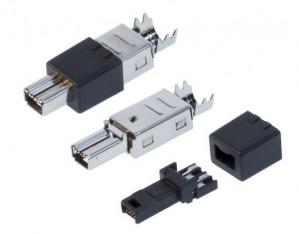 Wtyk IEEE 4pin montowany na kabel