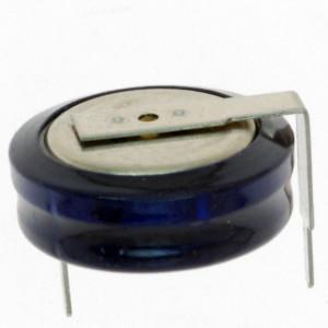 Kondensator GOLD CAP 1F 5.5V R=20mm poziomy