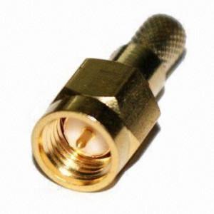 Złącze męskie SMA 50 Ohm zaciskane na kabel