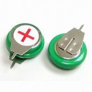 Bateria akumulator 1V2 80mAh 2 piny