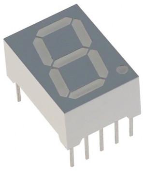 Wyświetlacz 1 cyfra h=13.22mm Zielony WA (wspólna anoda) (FJ5121BG)