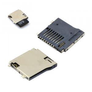 Gniazdo do karty pamięci micro SD uSD572 z wyrzutnikiem