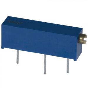 Potencjometr precyzyjny 3006P 500K Ohm 19mm l=25szt