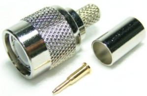 Złącze męskie TNC 50 Ohm zaciskane na kabel