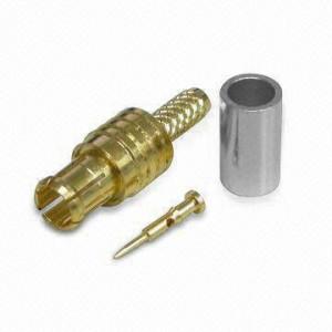 Złącze męskie MCX 50 Ohm proste na kabel
