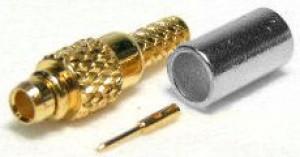 Złącze męskie MMCX 50 Ohm proste na kabel