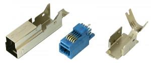 Wtyk USB 3.0 typu B montowany na kabel