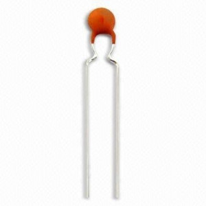 Kondensator ceramiczny 1.8pF/50V R=5mm opak=100 szt