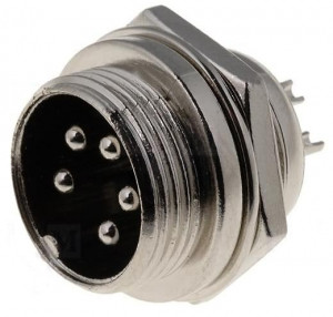 Gniazdo mikrofonowe NC/CB 5 PIN