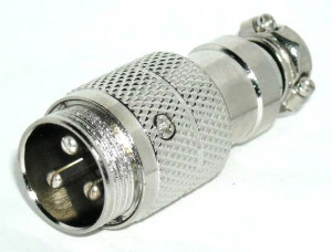 Gniazdo mikrofonowe na kabel NC/CB 3 PIN