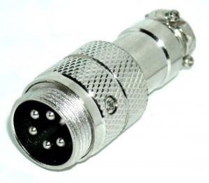 Gniazdo mikrofonowe na kabel NC/CB 5 PIN