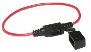 Gniazdo bezpiecznika samochodowego mini na kabel