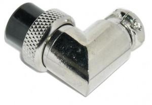 Wtyk mikrofonowy NC/CB kątowy 9 PIN