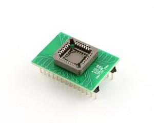Adapter z PLCC28 na DIL24 szeroka