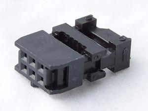 Gniazdo IDC 6 pin zaciskane na taśme opak=100 szt