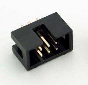 Wtyk IDC 6 pin prosty do druku opak=100 szt