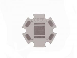 Płytka aluminiowa/radiator CREE d=16mm