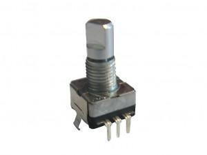 Enkoder 20 impulsów l=15mm z przyciskiem EC11