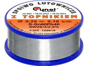 Cyna LC60 0.25mm ( 100g ) cena za 1kg