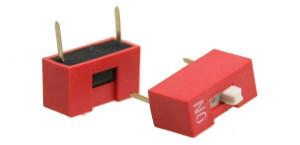 DIP Switch x1 Czerwony l=117szt