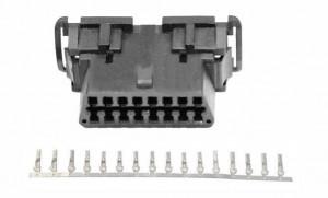 Gniazdo OBD2 z pinami do obudowy na zatrzask