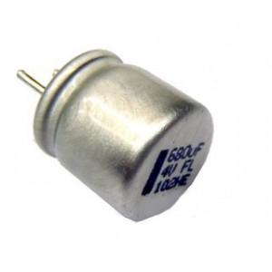 Kondensator polimerowy 680uF/6.3V 8x8mm opak=100 szt