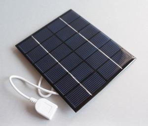Ogniwo słoneczne 0.6W 5.5V USB OS8 65x65x3mm