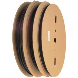 Rurka termokurczliwa 1.0/0.6mm rolka=200mb czarna