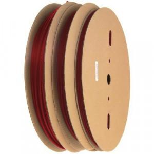 Rurka termokurczliwa 1.0/0.6mm rolka=200mb czerwona