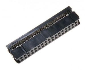 Gniazdo IDC 34 pin zaciskane na taśme opak=100 szt