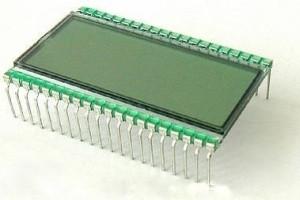 Wyświetlacz LCD JH-17 (3i1/2 cyfry do ICL7106) pin-6mm