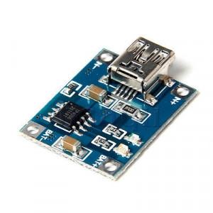 Moduł ładowania akumul. Li-Ion mini USB