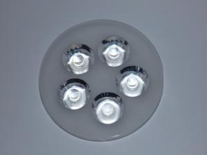 Soczewka na 5 LED mocy kąt 60° SPL9