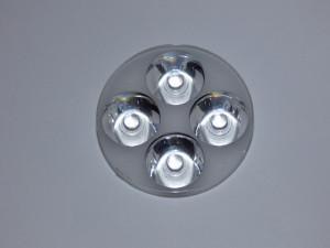 Soczewka na 4 LED mocy kąt 60° SPL8