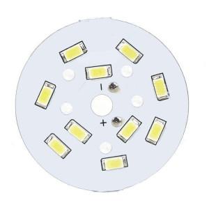 Moduł 10 LED 5W 15-17V d=49mm biały