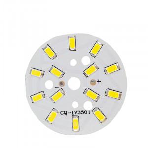 Moduł 14 LED 7W 21-24V d=49mm biały