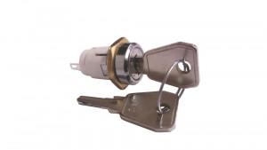 Przełącznik z kluczykiem metalowy typ1