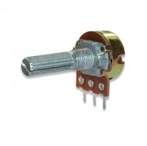 Potencjometr obrotowy 500K Ohm B (liniowy) l=20mm