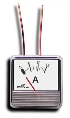 Miernik analog.panel amperomierz 3A MP
