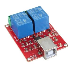 Moduł 2 przekaźników z USB do Arduino