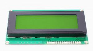 Wyświetlacz LCD 4x20 98x60mm zielone podświetlenie