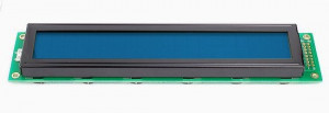 Wyświetlacz LCD 2x20 116x37mm niebieskie podświetlenie