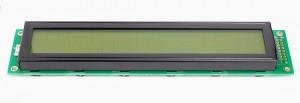 Wyświetlacz LCD 2x20 116x37mm zielone podświetlenie