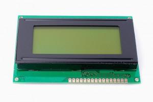 Wyświetlacz LCD 4x16 87x60mm zielone podświetlenie