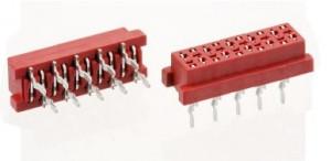 Micro-match gniazdo PCB 14PIN opak=100 szt