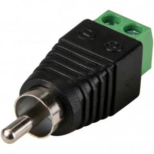 Wtyk RCA z szybkozłączem