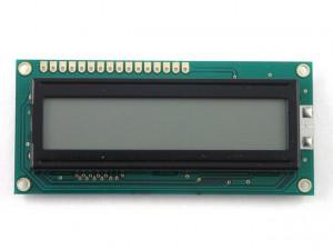Wyświetlacz LCD 2x16 80x36mm białe podświetlenie