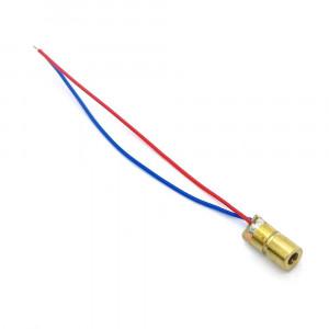 Laser 3-5V moc:5mW 650nm czerwony